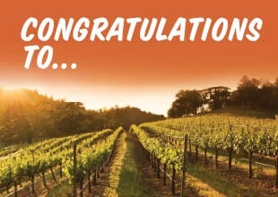 Californian Wine Tour competition winners