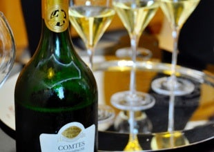 Day Eleven: Lunch with Taittinger, Bollinger and Petit Comptoir