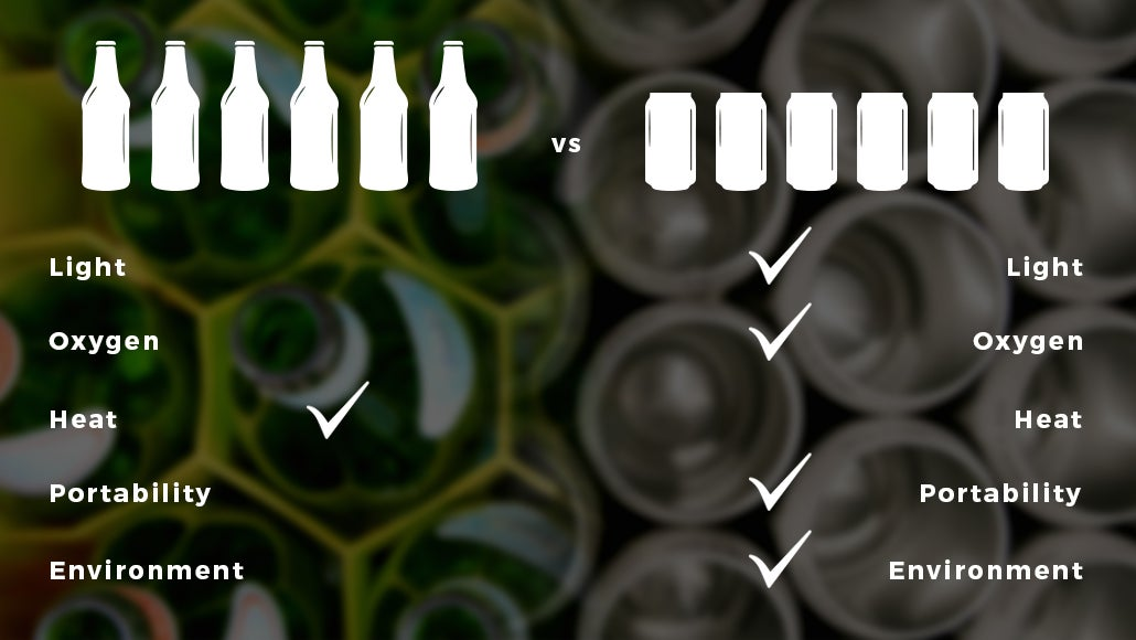 CANS VS BOTTLES