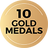 Gold Medals g10