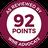 Wine Advocate 92