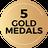 Gold Medals g5