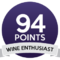 Wine enthusiast 94/100