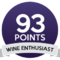 Wine enthusiast 93/100