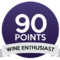 Wine enthusiast 90/100