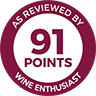 Wine Enthusiast we91