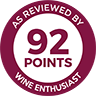 Wine Enthusiast we92