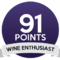 Wine enthusiast 91/100