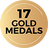 Gold Medal 17