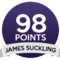 James Suckling 98/100