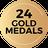 Gold G24