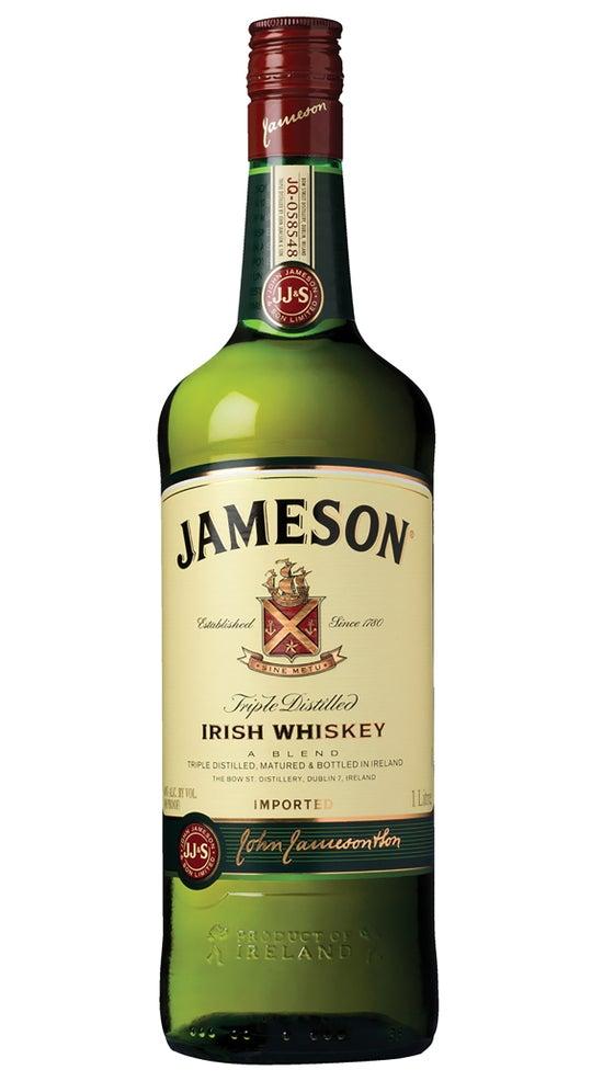 Jameson Irish Whiskey 1 Litre Bottle