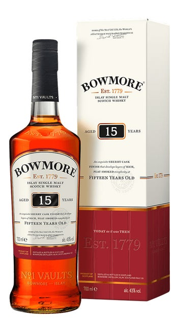 Bowmore 15 Year Old Whisky
