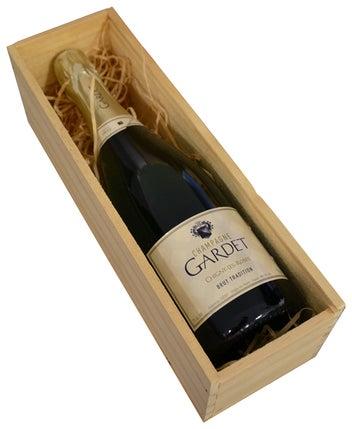 Gift Box Wooden Single Bottle