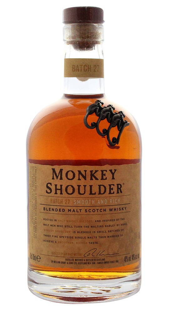 Monkey Shoulder Triple Malt Whisky