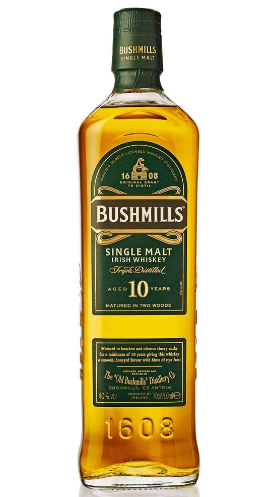 Bushmills 10 Year Old Irish Malt Whiskey 700ml