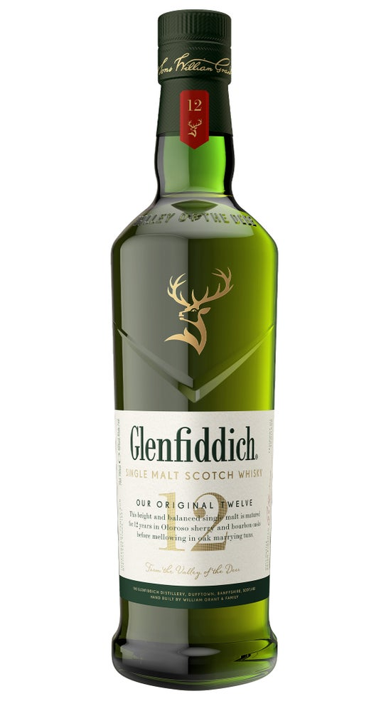 Glenfiddich Single Malt Scotch Whisky 12YO