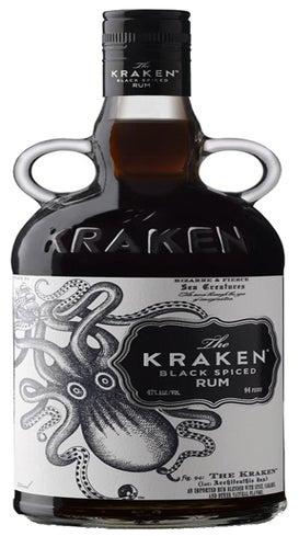 Kraken Black Spiced Rum 700ml bottle