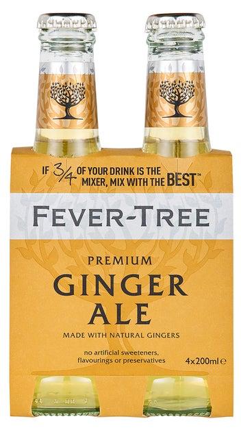 Fever-Tree Premium Ginger Ale 4pk