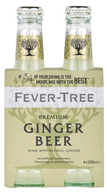 Fever-Tree Premium Ginger Beer 4pk