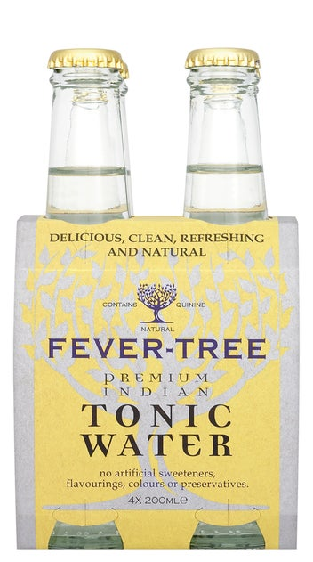 Fever-Tree Premium Indian Tonic Water 4pk