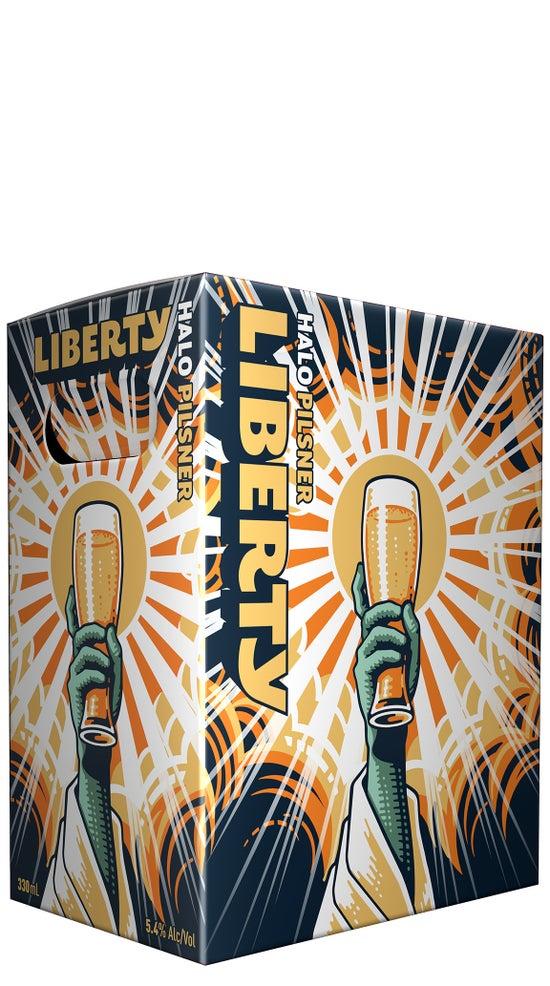 Liberty Halo Pilsner 6pk