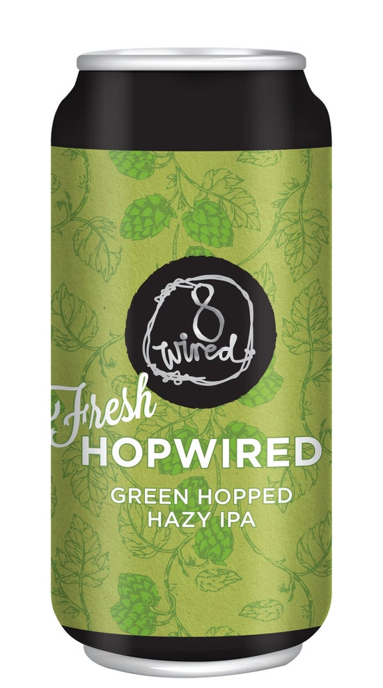 8 Wired Fresh Hopwired Hazy IPA