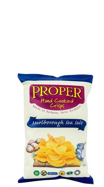 Proper Crisps Marlborough Sea Salt 150 gr