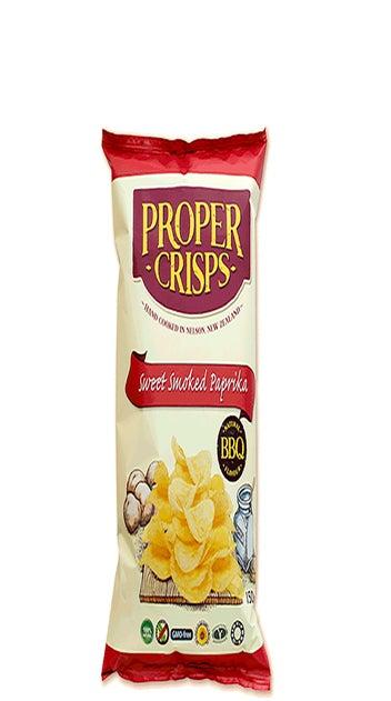 Proper Crisps Smoked Paprika 150 gr