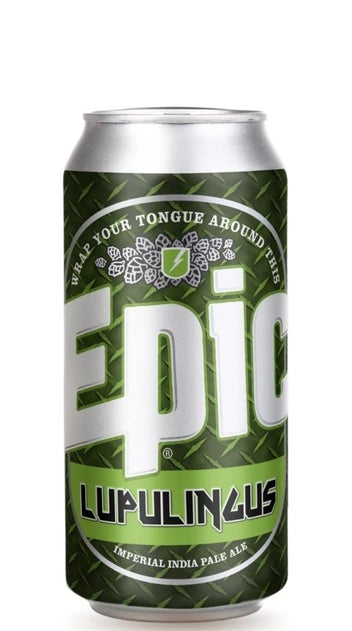 Epic Lupulingus Imperial IPA 440ml can