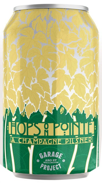 Garage Project Hops On Pointe 330ml Can