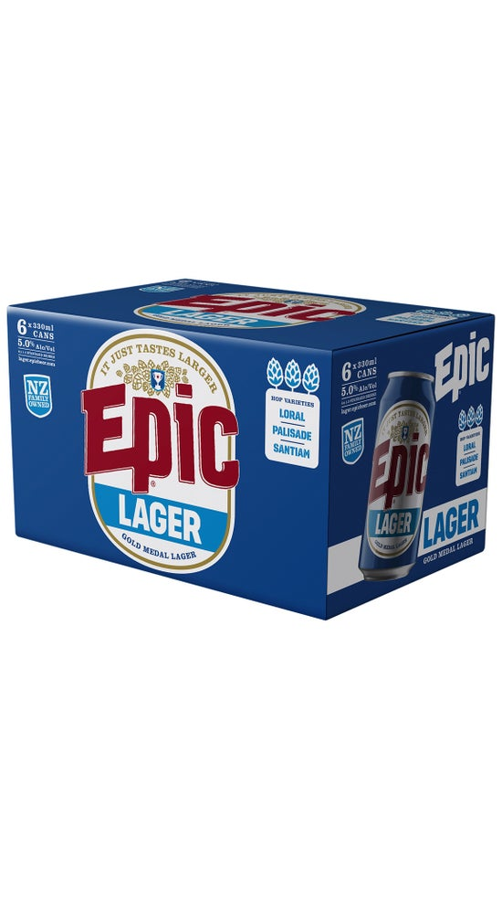 Epic Lager 6pk