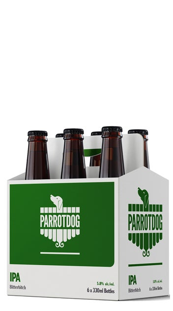 Parrotdog BitterBitch IPA bottles 6pk
