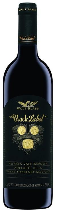 2012 Wolf Blass Black Label Cabernet Sauvignon Shiraz Malbec