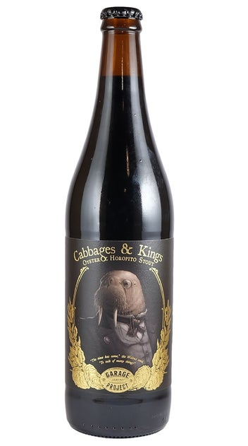 Garage Project Cabbages & Kings Imperial Oyster Stout