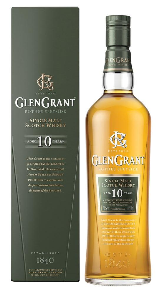 Glen Grant 10 Year Old Single Malt Whisky