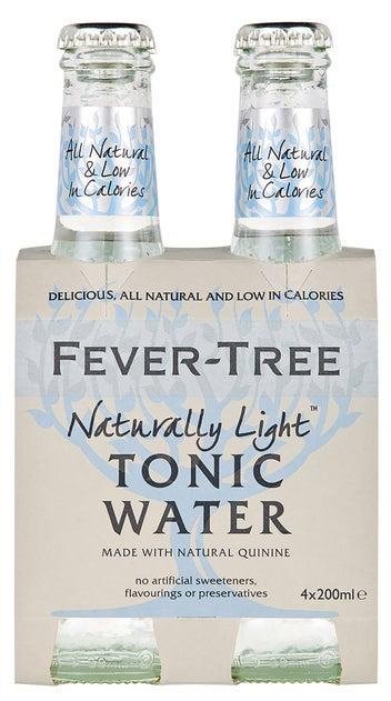 Fever-Tree Refreshingly Light Tonic Water 4pk