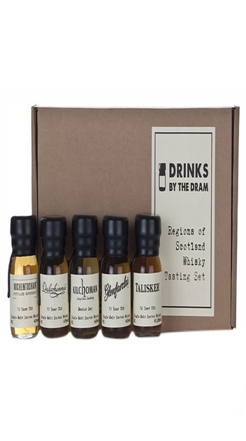 Regions Of Scotland Tasting Pack 5 x 30ml