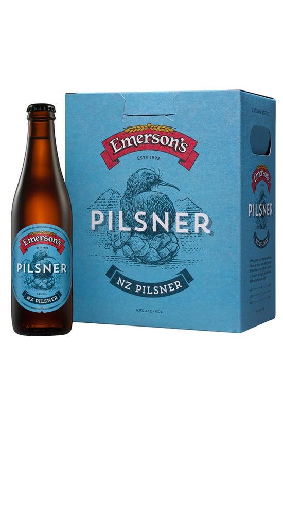 Emerson's Pilsner 6pk