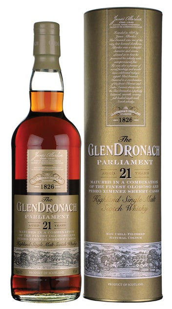 Glendronach Parliament 21 Yr 700ml bottle