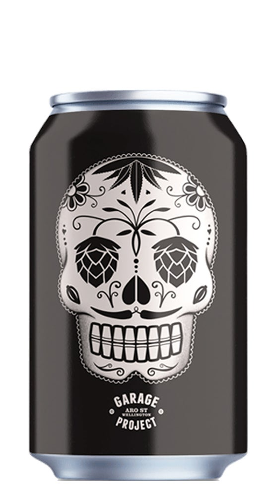 Garage Project Day of the Dead Chilli Black Lager Can