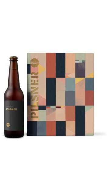 Sawmill Pilsner 6pk 330ml bottles