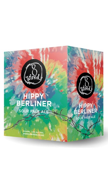 8 Wired Hippy Berliner Sour Ale 6pk