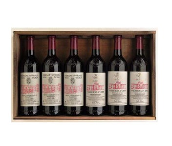 Vega Sicilia Valbuena Collector's Edition 6 Bottle Case