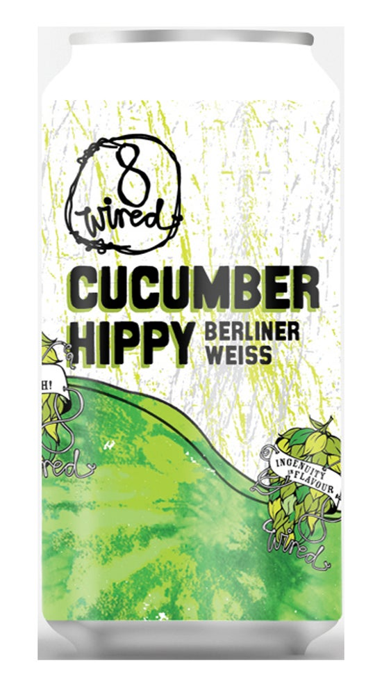 8 Wired Cucumber Hippy Berliner Sour Ale