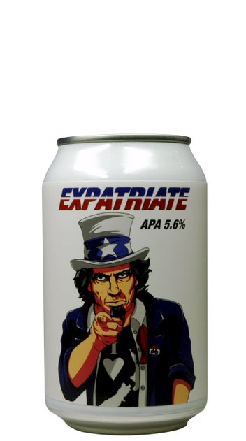 Double Vision Expatriate APA 330ml can