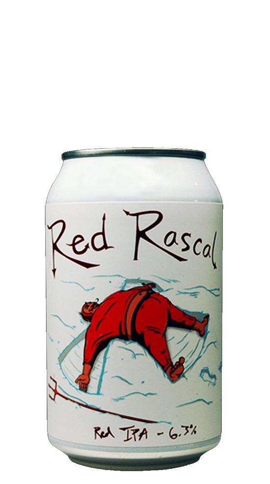 Double Vision Red Rascal Red IPA 330ml can