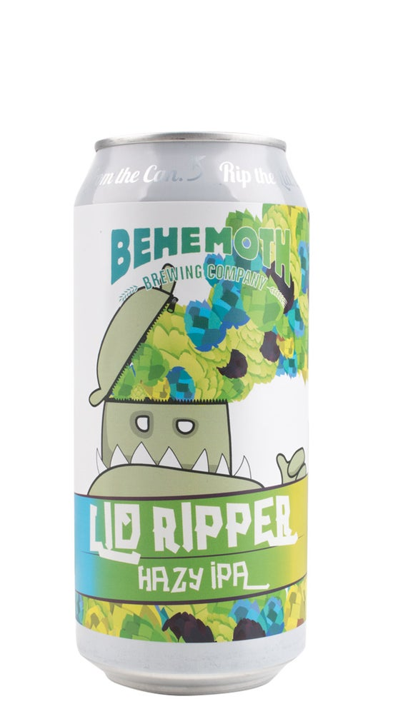 Behemoth Lid Ripper Hazy IPA 440ml can
