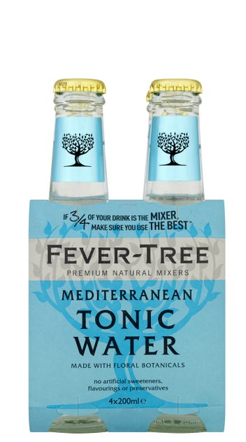 Fever-Tree Premium Mediterranean Tonic Water 4pk