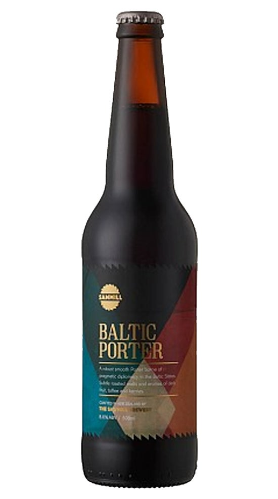 Sawmill Baltic Porter 500ml bottle